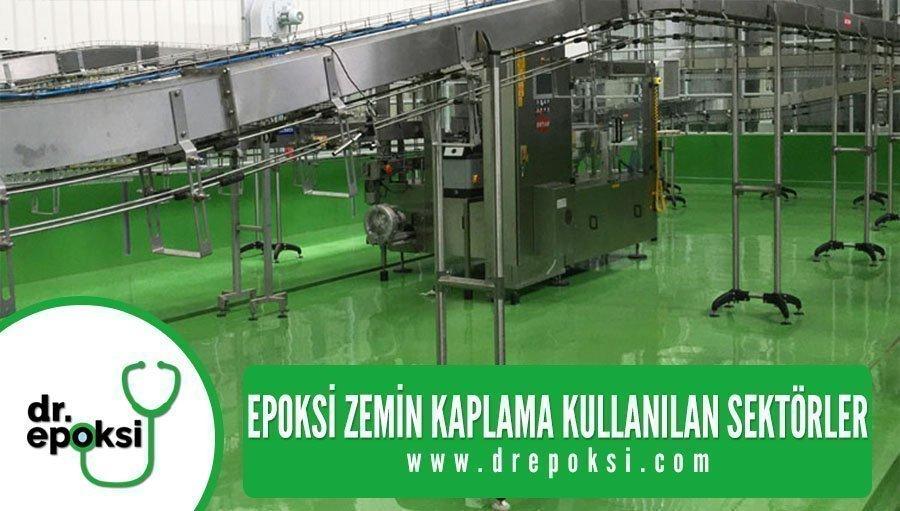 epoksi-zemin-kaplama-kullanilan-sektörler